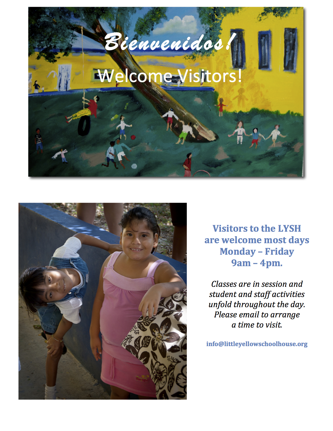 LYSH Visitors Welcome jpeg